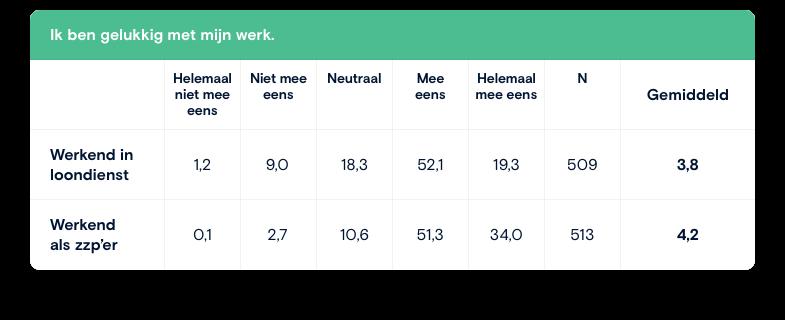 Onderzoek geluk in werk